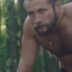Portrait of Strong Wet Man in the Forest - VideoHive Item for Sale