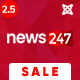 News247 - News/Magazine Newspaper Joomla Template - ThemeForest Item for Sale