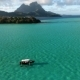 Boat on Ocean of Bora Bora - VideoHive Item for Sale