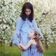Mother and Little Daughter Are Hugging in Nature - VideoHive Item for Sale