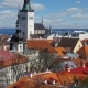 View of Old Town of Tallinn in Estonia - VideoHive Item for Sale