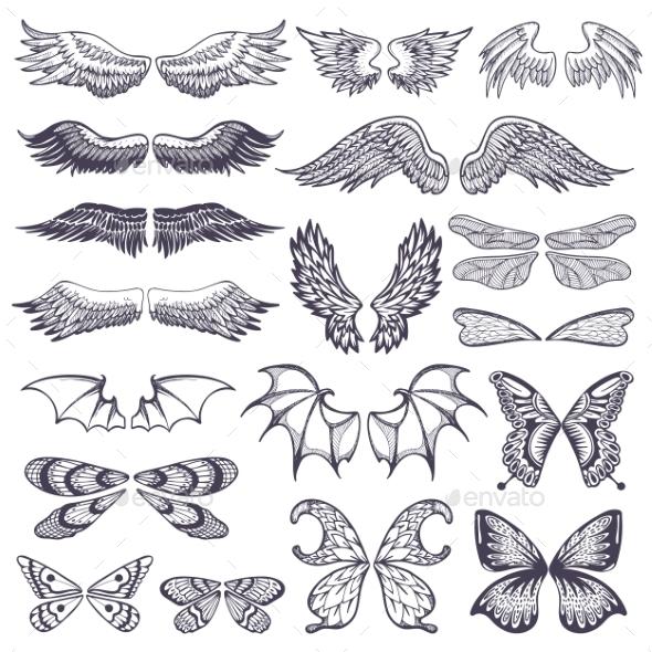 Wing Vectors - Miscellaneous Vectors
