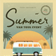 Vintage Summer Event Flyer - GraphicRiver Item for Sale