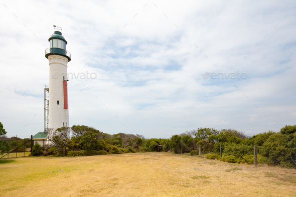 Queenscliff Lighthouse - Stock Photo - Images