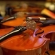 Violins in Dressing Room Before Concert - VideoHive Item for Sale
