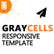 Graycells Responsive Template - ThemeForest Item for Sale