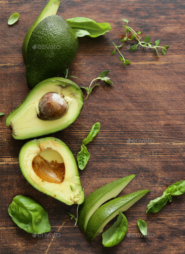 Healthy Avocado Food - Stock Photo - Images