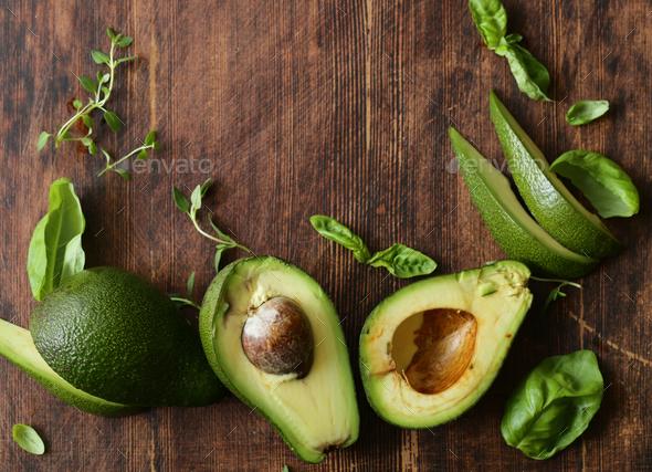 Healthy Avocado Food - Stock Photo - Images