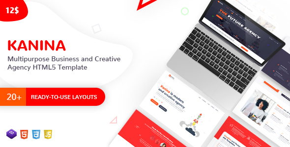 Kanina – Multipurpose Business and Creative Agency HTML Template