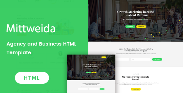 Image of Mittweida - Business & Agency HTML Template