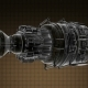 Rotate Jet Engine Turbine - VideoHive Item for Sale
