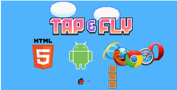 Tap e Fly - HTML5 Game (CAPX) - CodeCanyon Item for Sale