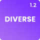 Diverse - Responsive Dashboard Admin UI Kits