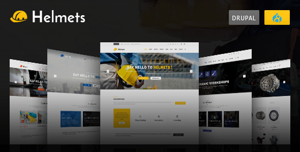 Helmets - Drupal 8 Theme for Handyman - Business Corporate