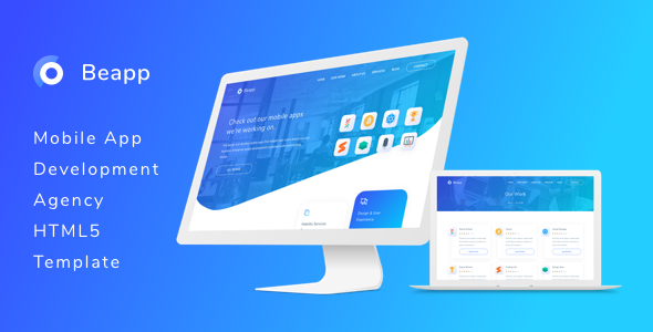 Image of Beapp - Mobile App Development Agency HTML5 Template