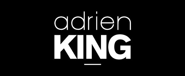 Adrien king logo home image