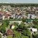 View From Above on Modern Cottage Village Near Moscow, Russia - VideoHive Item for Sale
