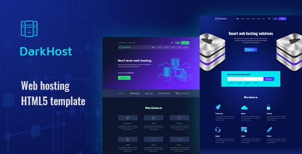 Inkist – Web Hosting HTML 5 Template