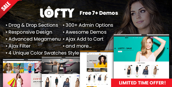 Image of Lofty - Clean & Minimal Shopify Sections Theme