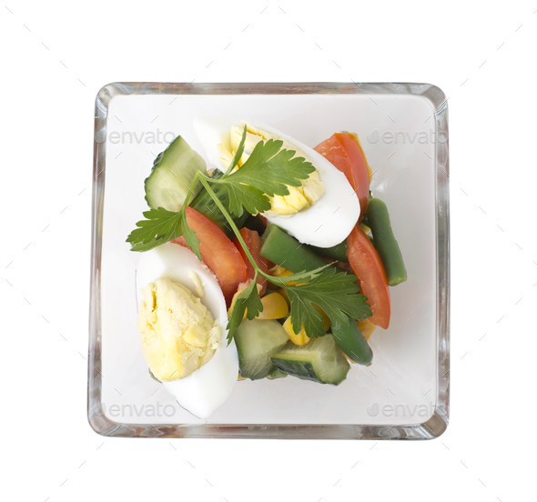 Fresh vegetable appetizer. - Stock Photo - Images
