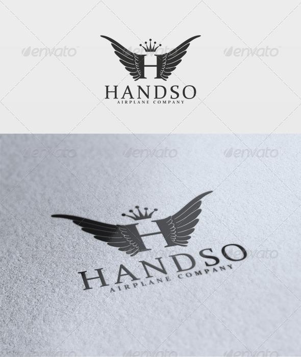 Handso Logo - Letters Logo Templates