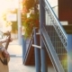 Girl Street Musician Playing Guitar at Sunset, - VideoHive Item for Sale