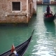 Venetian Channel with Ancient Houses and Boats - VideoHive Item for Sale
