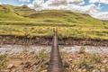 Pedestrian bridge over the Mlambonja River at  Garden Castle - PhotoDune Item for Sale