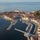 Aerial View of Piran in Slovenia - VideoHive Item for Sale