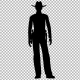 Cowboy Silhouette - VideoHive Item for Sale