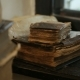 Stack of Old Books in Library - VideoHive Item for Sale