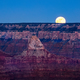 Landscape view of Grand canyon with rising moon, Arizona - PhotoDune Item for Sale