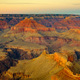 Grand canyon landscape view with dark contrast and beautiful colors - PhotoDune Item for Sale