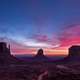 Colorful sunrise landscape view at Monument valley national park, Arizona - PhotoDune Item for Sale
