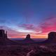 Colorful sunrise landscape view at Monument valley national park, Arizona - PhotoDune Item for Sale