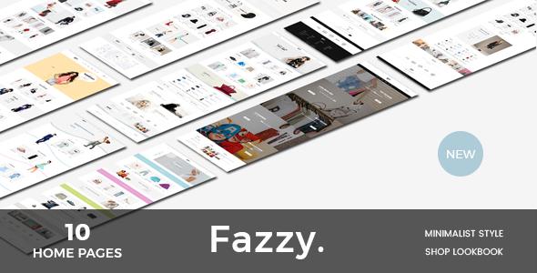 Fazzy - Lookbook Ecommerce PSD Template