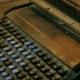 Typewriter Keys. Keys on an Antique Typewriter - VideoHive Item for Sale