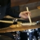 Anonymous Drummer Drumming on Stage - VideoHive Item for Sale