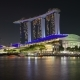 Night View of Singapore with Marina Bay Sands - VideoHive Item for Sale