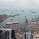 Harbor with Ships in Singapore Strait - VideoHive Item for Sale
