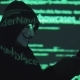 Hacker in the Mask Hacks the Program Code - VideoHive Item for Sale