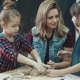 Mother And Two Daughters in a Pottery Class - VideoHive Item for Sale