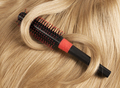 Long blond human hair with a comb - PhotoDune Item for Sale