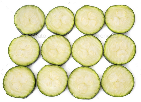 zucchini in studio - Stock Photo - Images