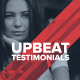 Upbeat Testimonials - VideoHive Item for Sale