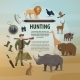 Vector Poster Hunting Concept - GraphicRiver Item for Sale