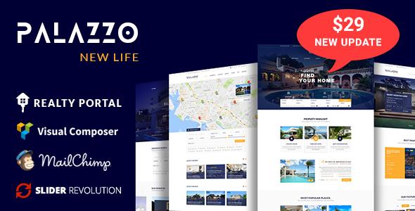 Palazzo - Real Estate WordPress Theme