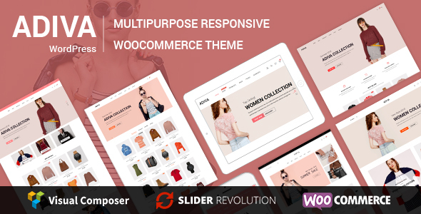 Image of Adiva - eCommerce WordPress Theme