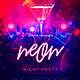 Neon Party - GraphicRiver Item for Sale