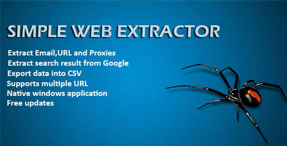 Easy Web Extractor - CodeCanyon Item for Sale